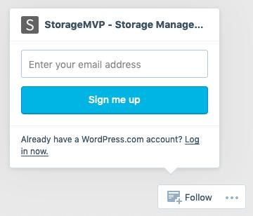StorageMVP-EmailSignupForm